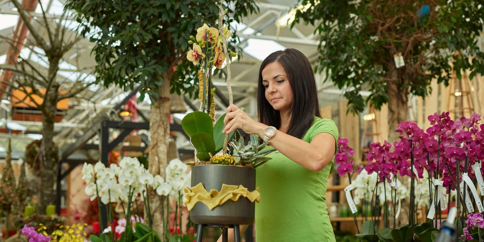 Kreativwerkstatt in der Blumenwelt